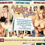 Kaylee Rain With EUDebit
