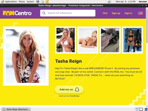 Tasha Reign 支払い