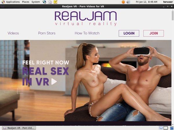 Realjamvr.com Signup Page