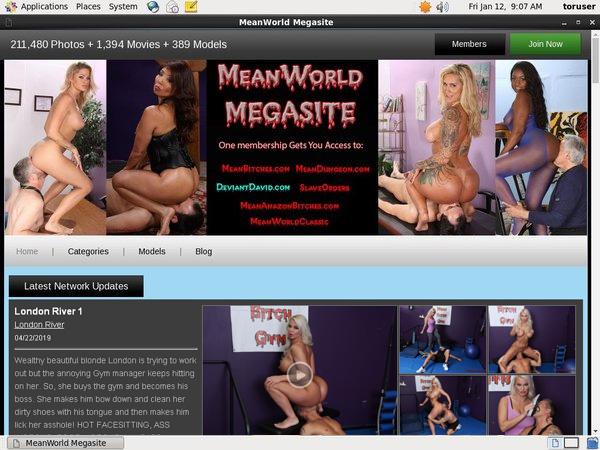 Mean World Parola D'ordine