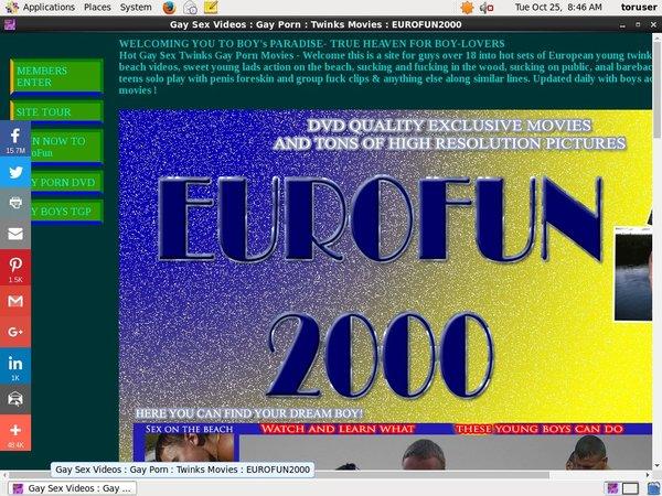 Eurofun2000 Get Trial Membership