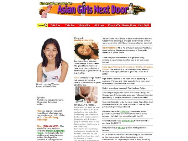 Paypal Asian Girls Next Door?